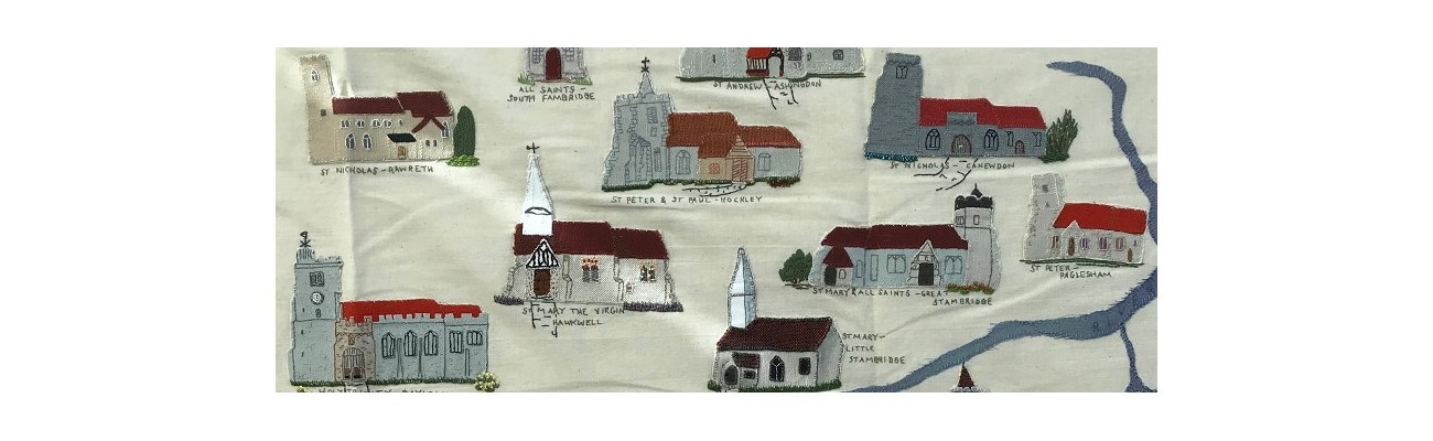An early extract of the churches tapestry